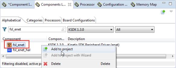 Adding fsl_enet component