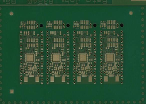 tinyK20 PCB Top