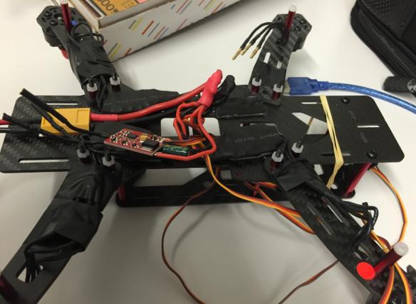 Quadrocopter ESCs