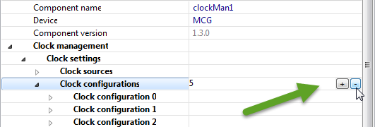 Removing Clock Configurations