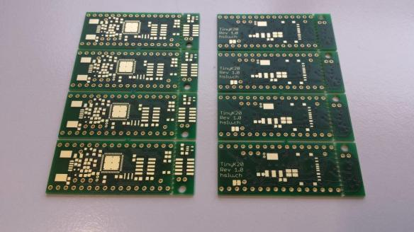 tinyK20 Boards Unpopulated