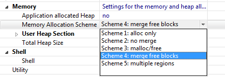 FreeRTOS Memory Schemes