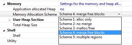 FreeRTOS Memory Schemes