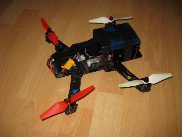 Kinetis Drone taped together