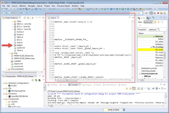 Preprocessor Listing
