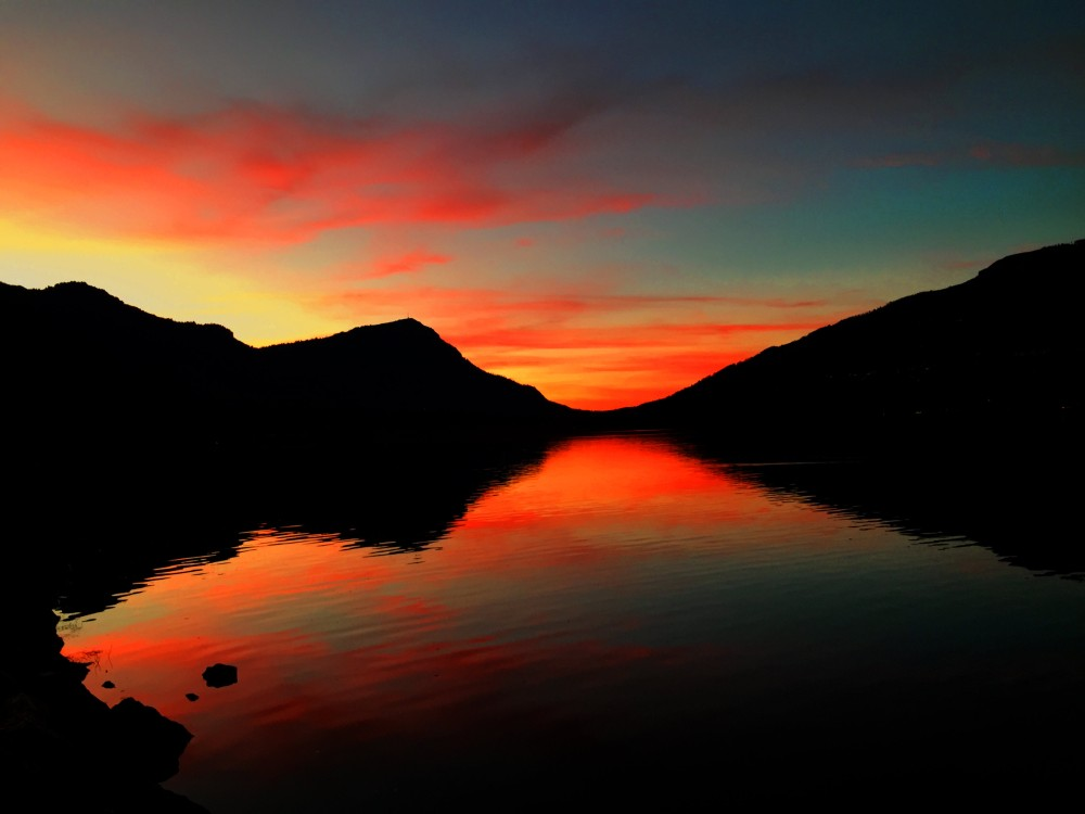 Red Rigi Sunset