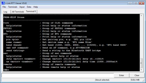 Segger RTT Console