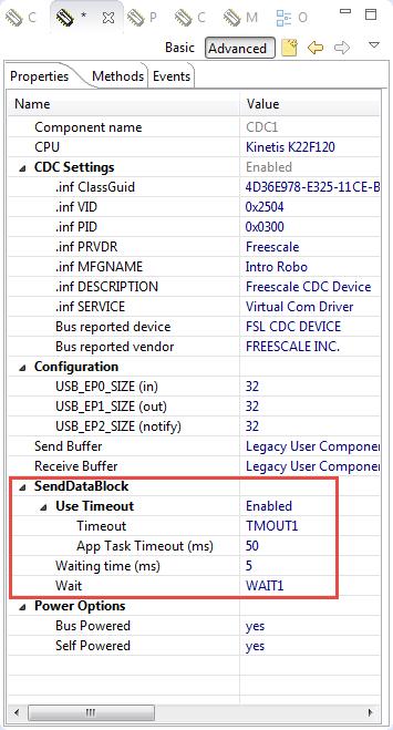 SendDataBlock USB Stack Timeout