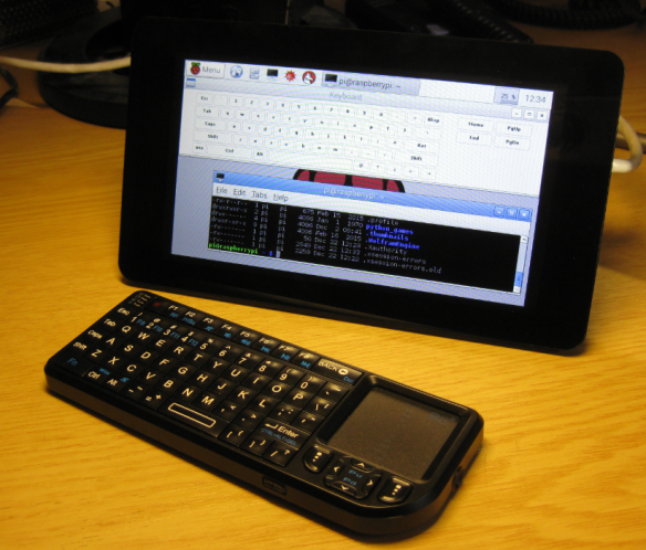 Raspberry Pi 2 with 7 Inch Touchscreen