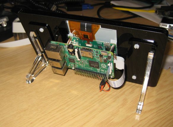 Raspberry Pi Frame Backside