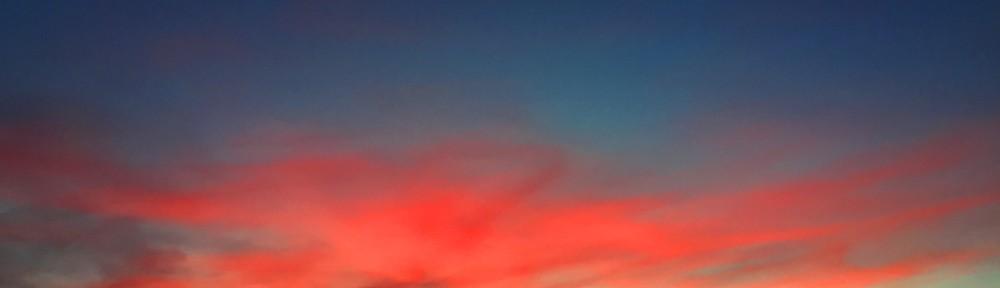 Red Evening Sky