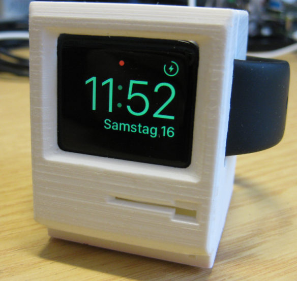 3D Printed Apple Watch Charging Station