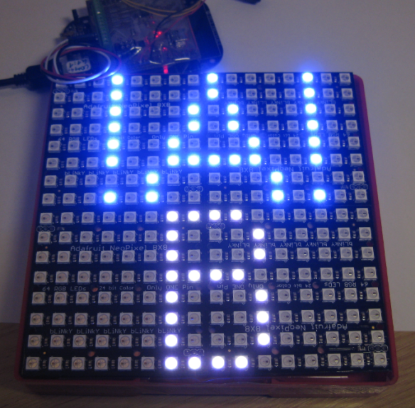 256 NeoPixel Matrix with FRDM-KL25Z