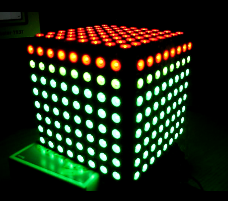 Bare LED Cube