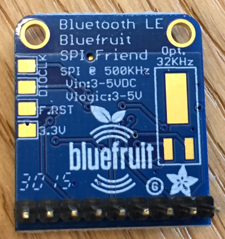 Bluefruit SPI Board Bottom Side