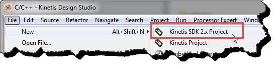 Kinetis SDK v2.0 Wizard