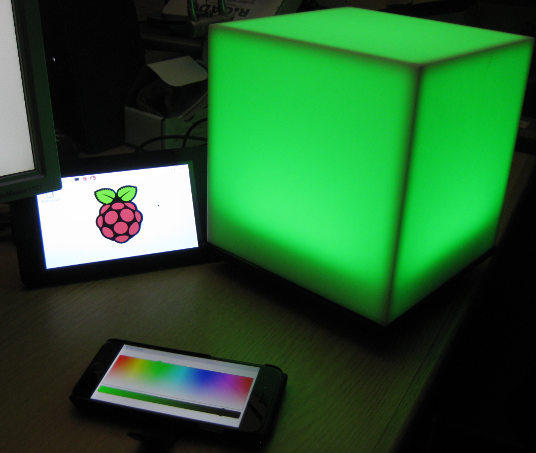 Kinetis RGB Cube with openHAB
