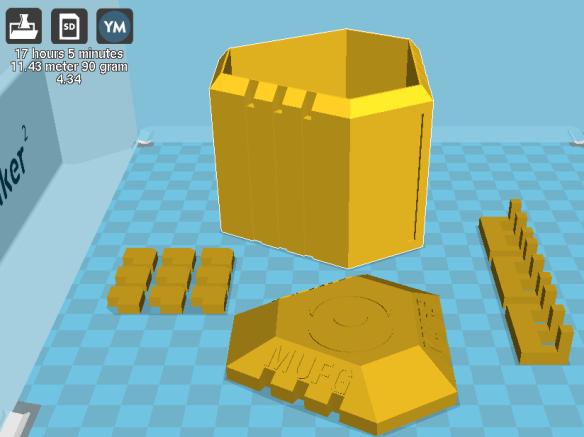 MUFG Capsule 3D Model