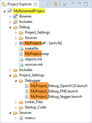 Renamed Project Folder