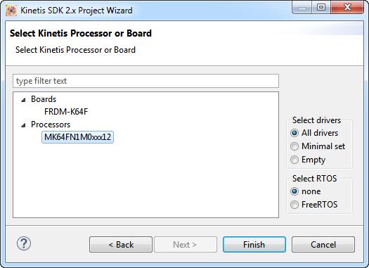 SDK V2.0 Wizard Last Page