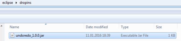 undoredo plugin in Eclipse Dropins Folder