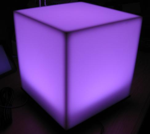 Violet cube
