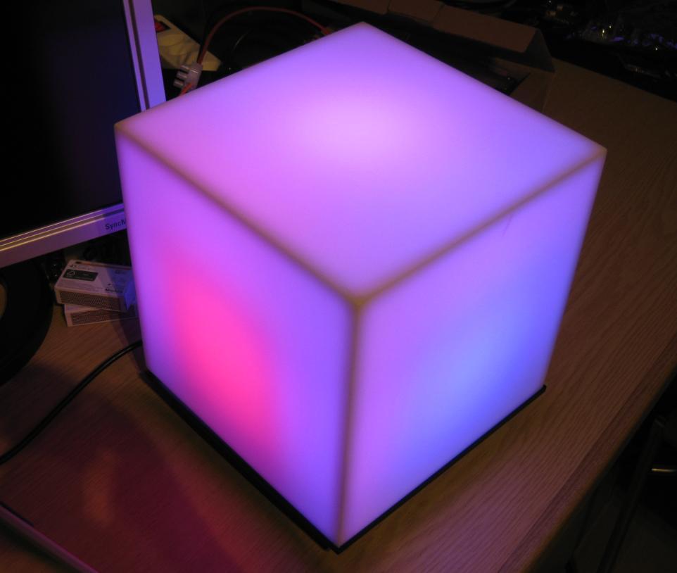Kinetis Lava Led Light Cube Mcu On Eclipse