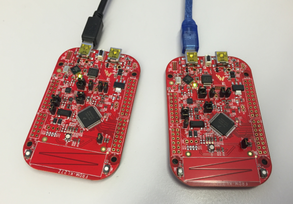 Debugging two NXP FRDM-KL27Z Boards with P&E Debugger the same time