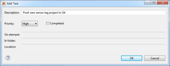 Adding New Task Properties
