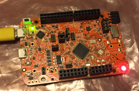 Blinky on a FRDM-K22F with SDK V2.0 and Processor Expert