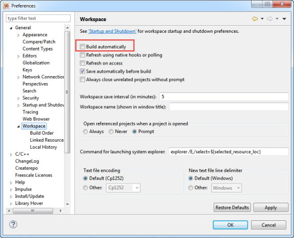 Build and Clean Selected Files in Eclipse CDT - DZone Java