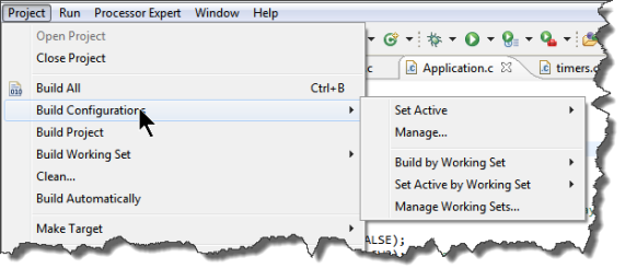 Eclipse Project Build Configuration