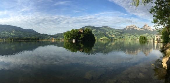 Insel Schwanau Panorama