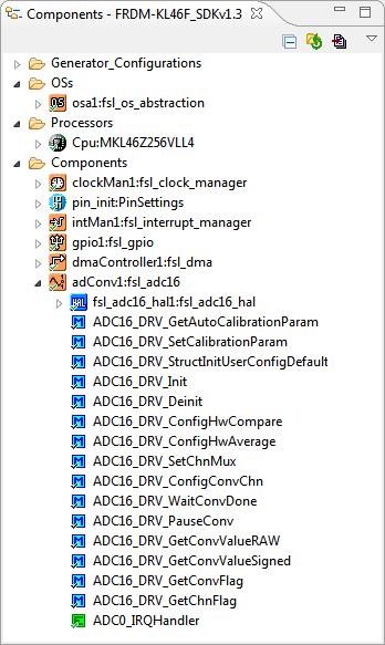 Kinetis SDK V1.3 Project with Processor Expert
