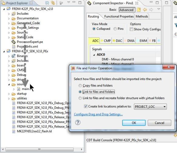 Linking Folder