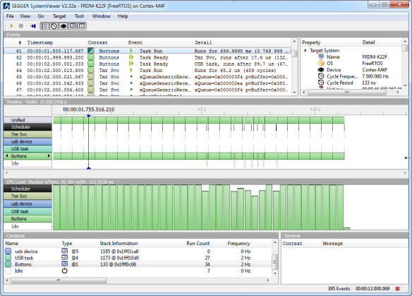 Segger SystemView