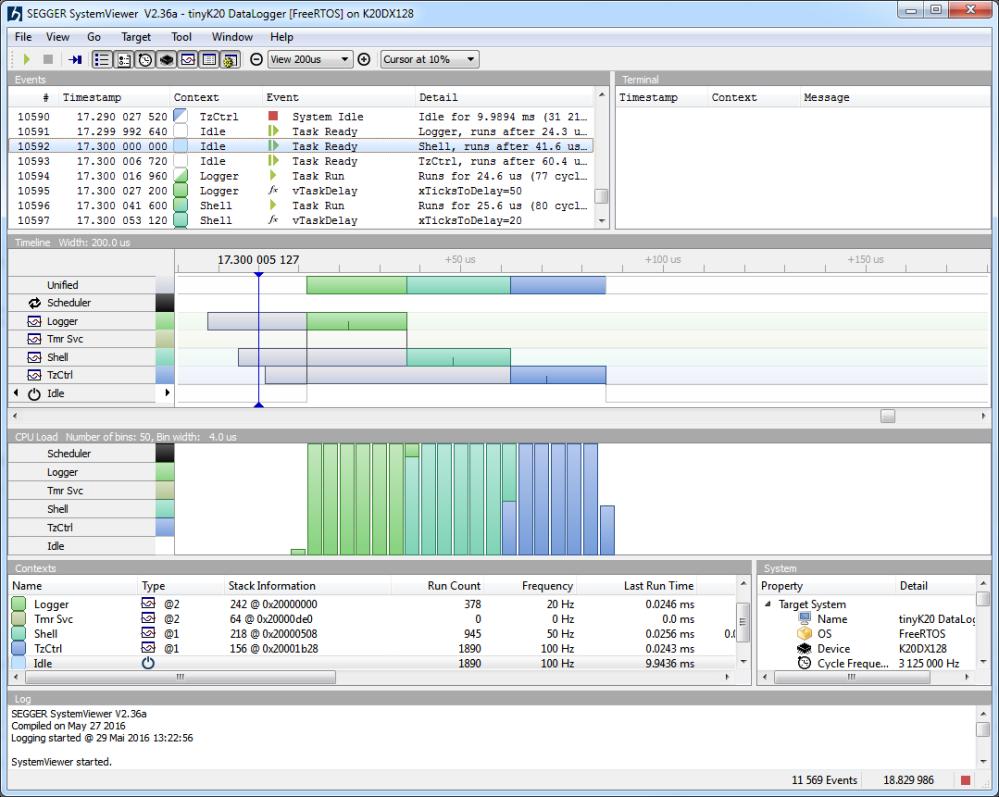 Segger SystemViewer V2.36a