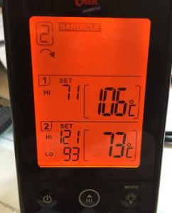 Passed 72°C