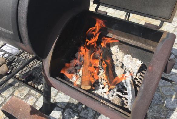 Adding Firewood