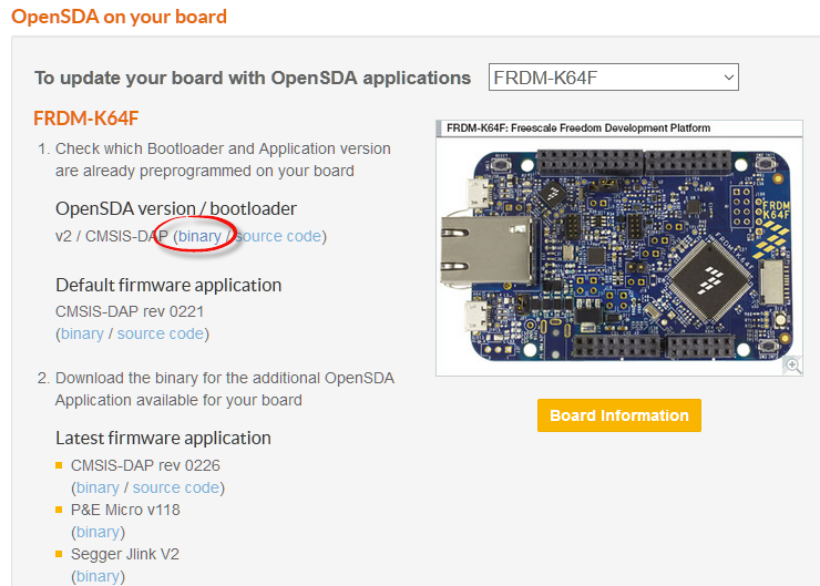How to Recover the OpenSDA V2 x Bootloader | MCU on Eclipse