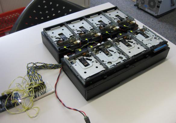 Diskette Drive Boxes