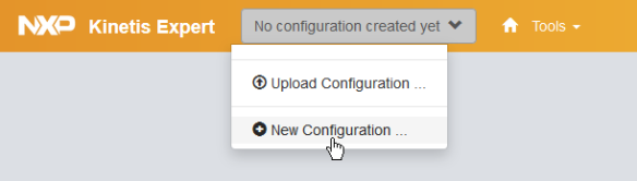Select New Configuration