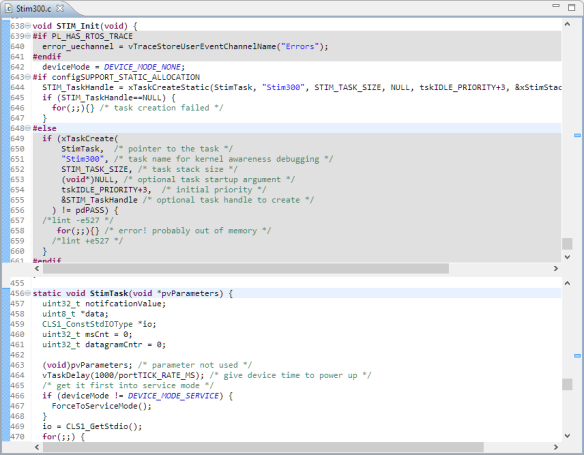 Splitted Editor View in Eclipse