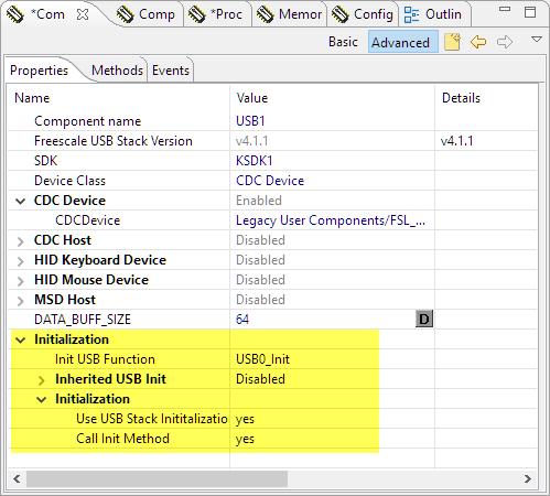 USB Initialization