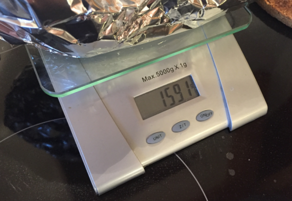 Weight after smoking