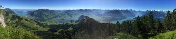 Panorama from Hochflue