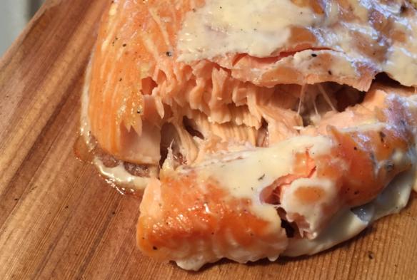 Salmon on Cedar Plank