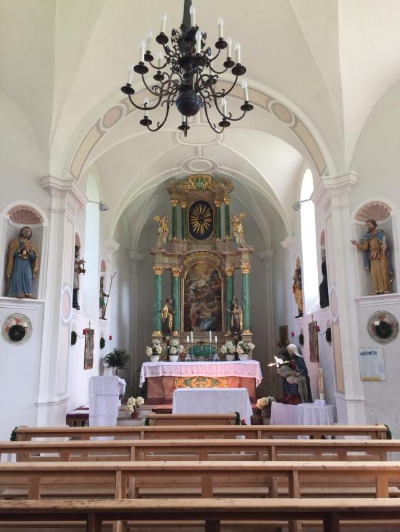 Inside Annakirchl