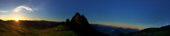 Haggenegg Sunrise Panorama