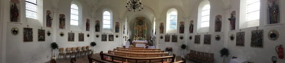 Inside St. Anna Church